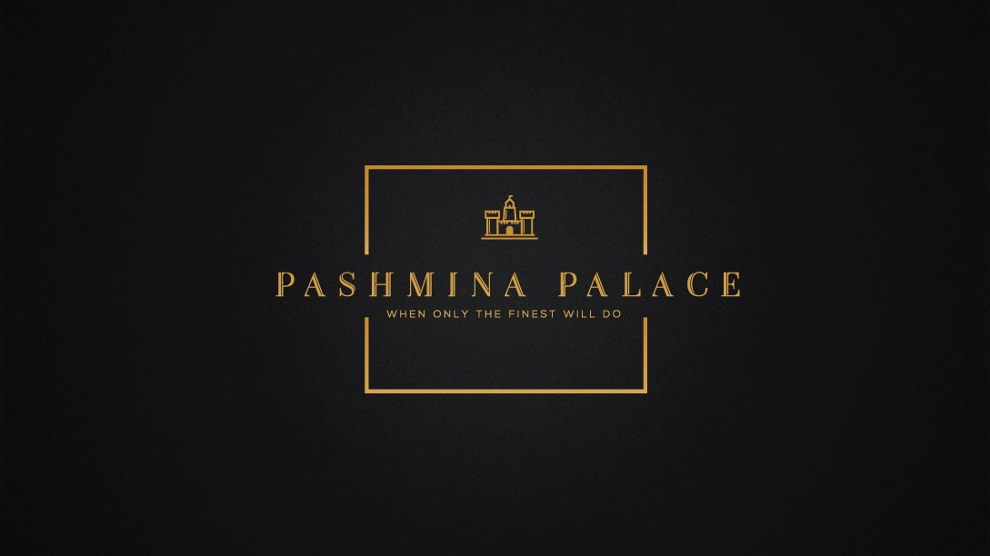"""""""Design a luxurious brand with a hint of power for Pashmina Palace"""""""