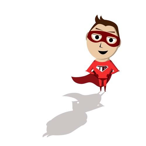 Superhero Mascot for Team Bonding