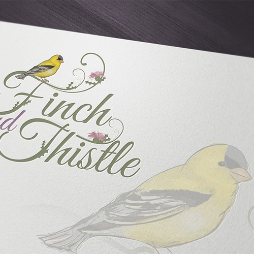 Finch and Thistle Logo