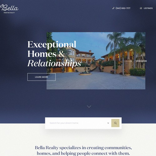 Realty web design
