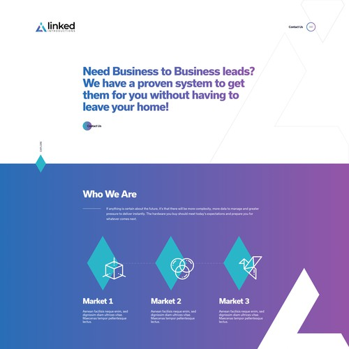 Linked Introductions landing page