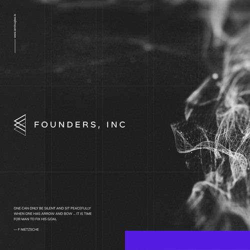 Oblique mark for Founders, Inc