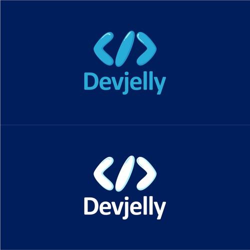 devjelly logo concept