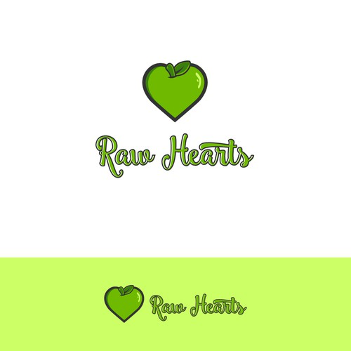 Logo Design For Raw Hearts