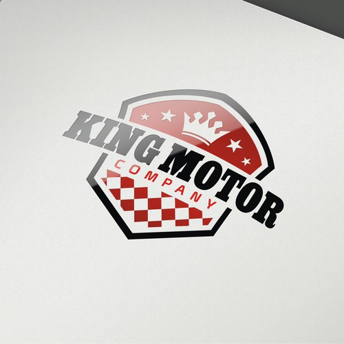 Help King Motor Company with a new logo