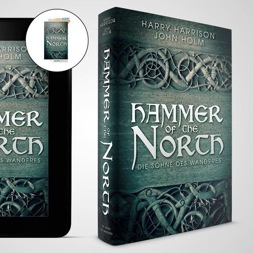 Winning cover design for historical fiction novel