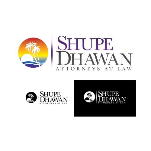 Contemporary Legal Team Logo