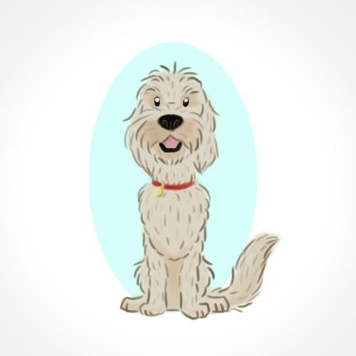 Children's book character design sketches