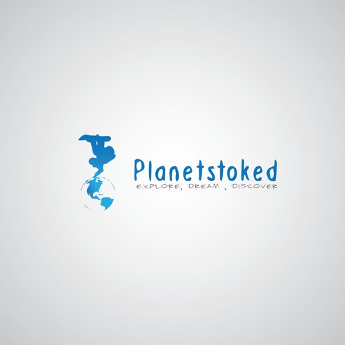 logo for Planetstoked; or PlanetStoked oder planetstoked.com....