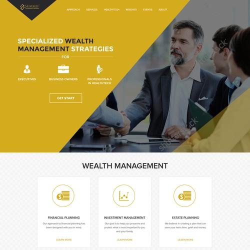 Health Tech Landing Page