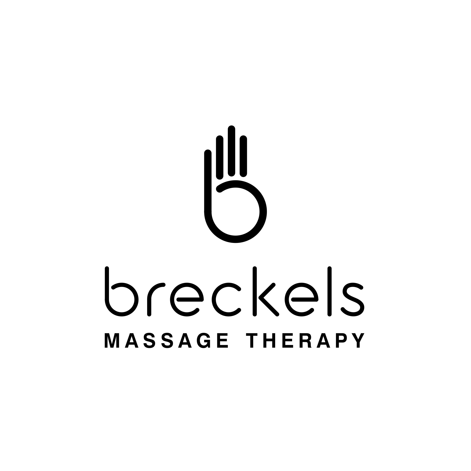 Create a simple, abstract logo for our non-spa non-corporate Massage Studio