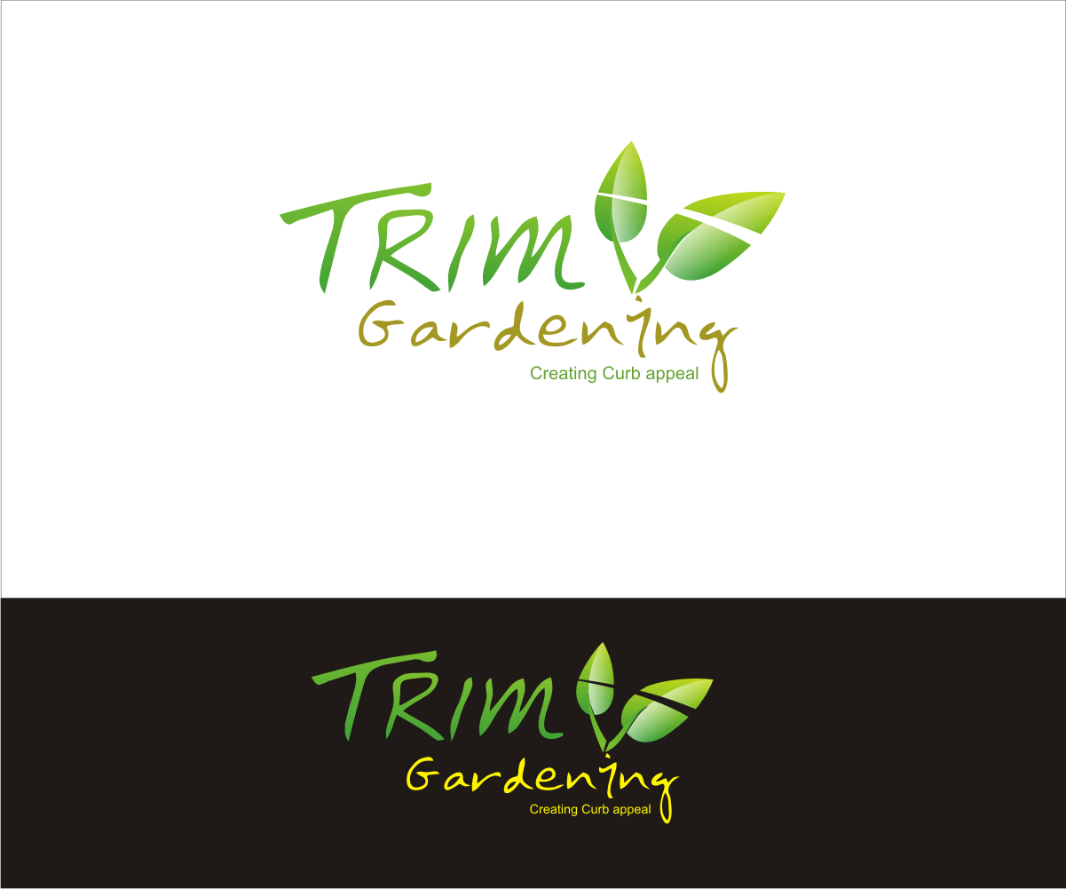 logo for TRIM GARDENING