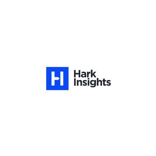 Hark Insights Logo Concept