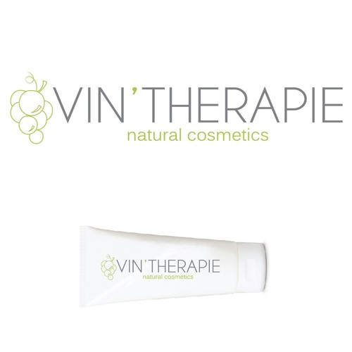 """Vin'therapie"" natural cosmetics logo"