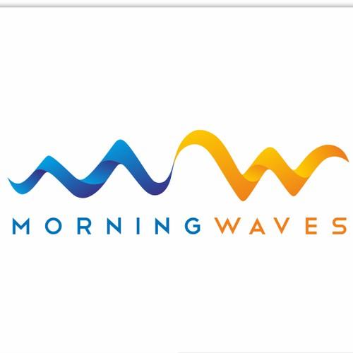 logo for Morning Waves