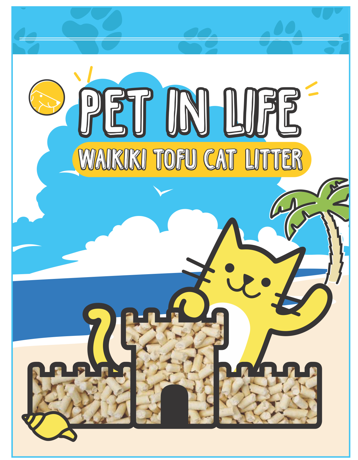 Pet in Life Tofu Cat Litter