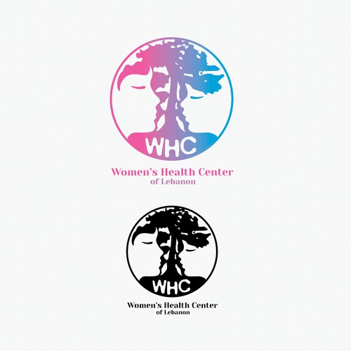 Me version of logo for the Women's Health Center of Lebanon