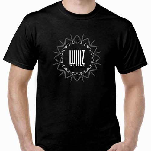 t shirt design for WIIIZ