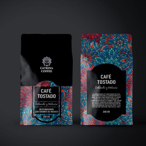 Packaging CATRINA COFFEE