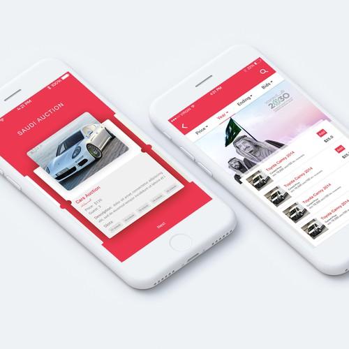 Auction App UI