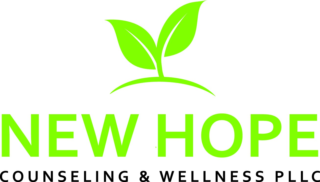 Design a welcoming and warm logo for New Hope Counseling & Wellness PLLC