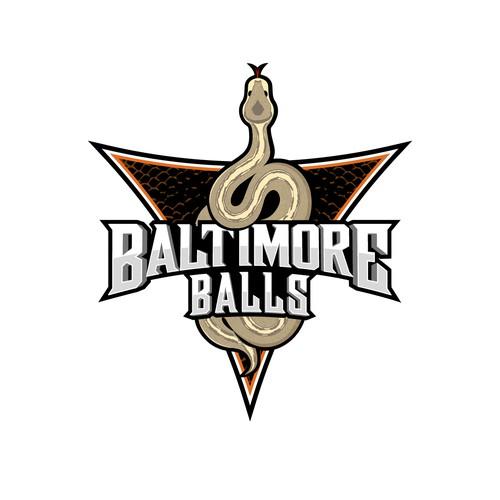 Baltimore Ball Python Logo
