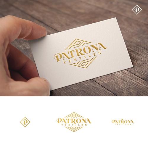 Logo for Patrona Textiles