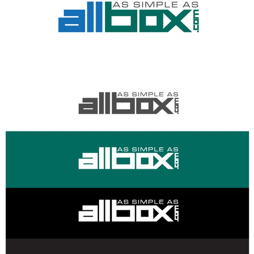 ALLBOX.COM - Looking for a simple and powerful logo that we can build on.