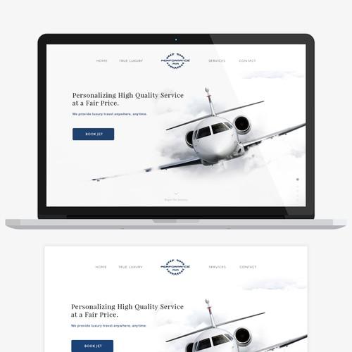 Performance Air Website Homepage