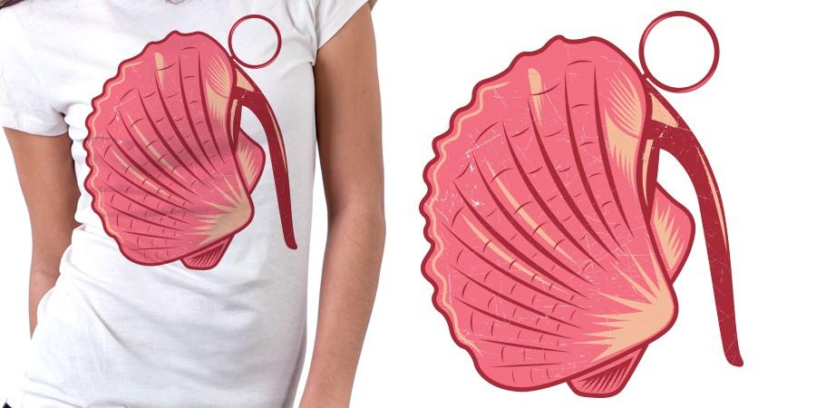 Bomb'shell' t-shirt design