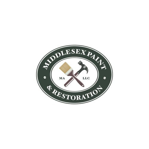 Traditional New England style logo