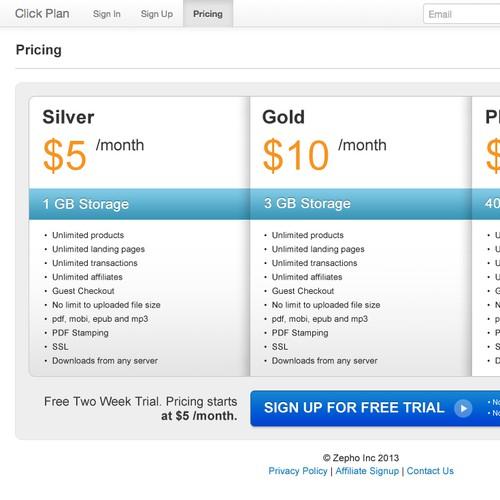 Click Plan needs a new website or app design