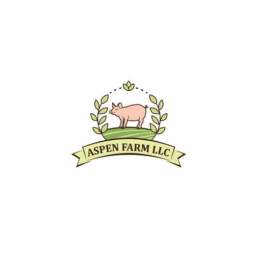 pig farm logo