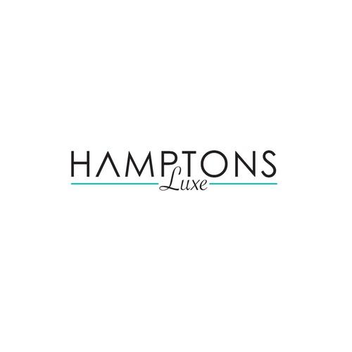 Logo: HAMPTONS Luxe.