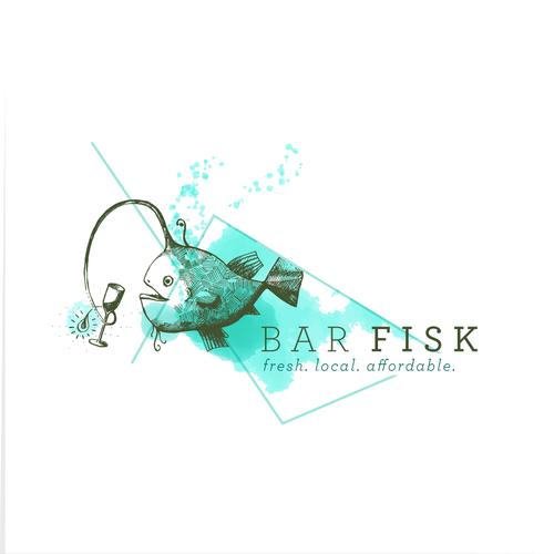 Seafood and drinks bar