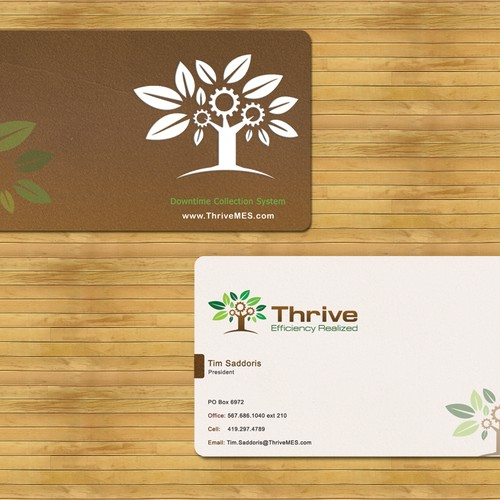 Create the next stationery for Thrive