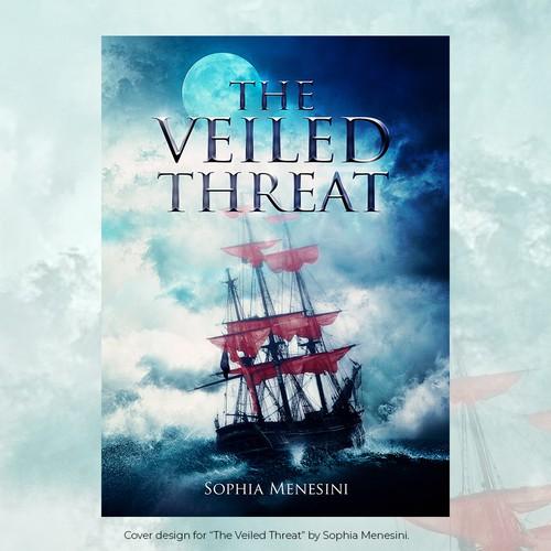 Cover design for a YA fantasy book