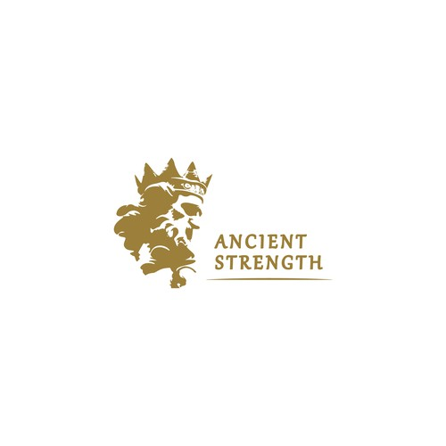 Logo Design Concept for Ancient Strength