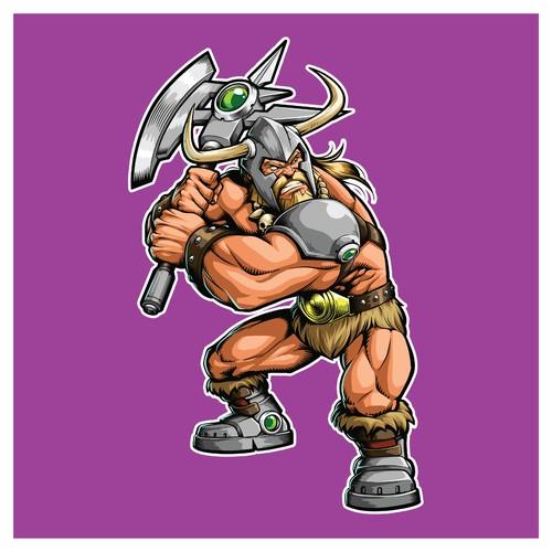 CyberPunk Viking Mascot Ideas