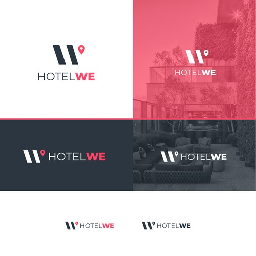 H + W logo for sale
