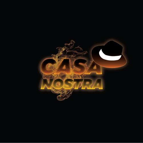 Mafia Inspired Cocktail Bar Logo
