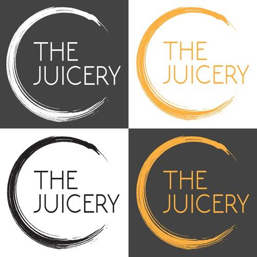 Modern logo for juice bar