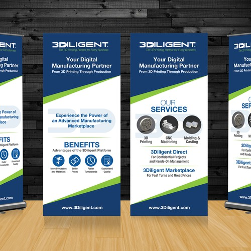 Design a Display Banner for 3Diligent