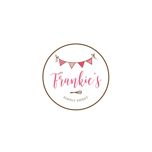 Frankie's logo for events and party planner