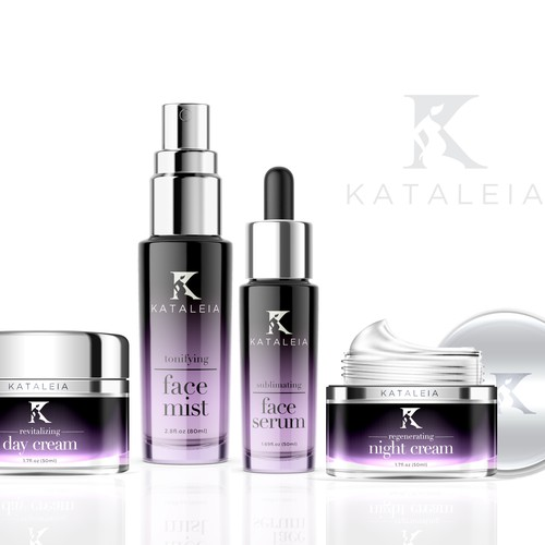Packaging for a luxurious cosmetic brand