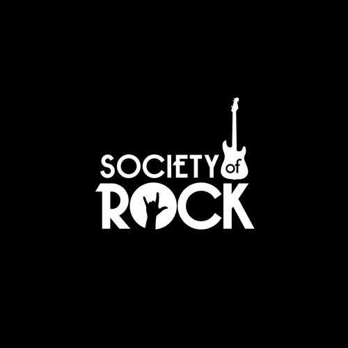 Society of Rock logo design