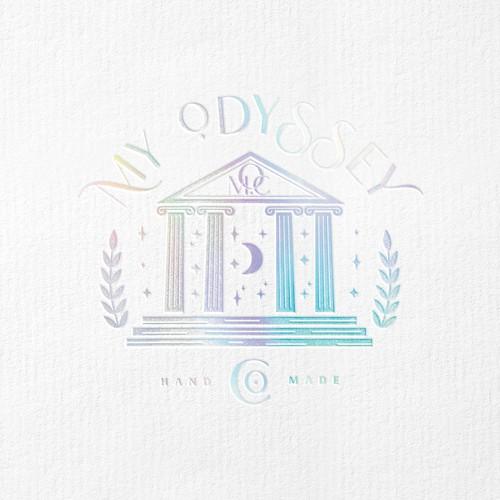 Classic logo design for Mythology Candle Co