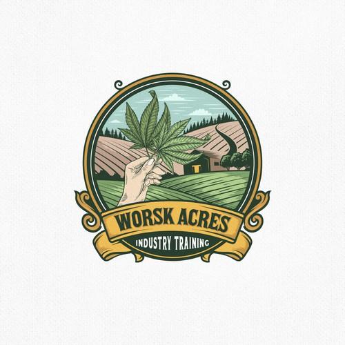 WORSK ACRES LOGO