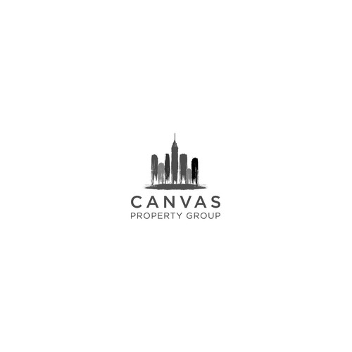 new logo for Canvas Property Group, a NYC based apartment manager