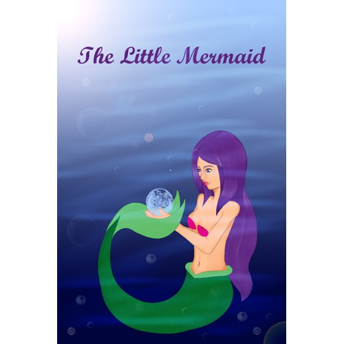 """Illustrations for the fairy tale """"The Little Mermaid"""""""